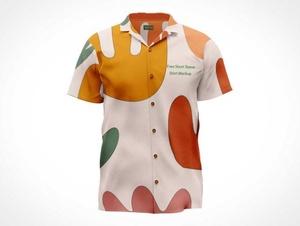 Short Sleeve Men's Shirt PSD Mockups