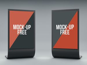 Stand Display Mockup