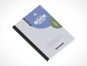 Tape Bound Book PSD Mockups