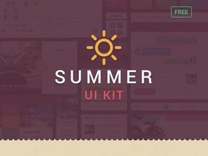 Summer UI Kit Free