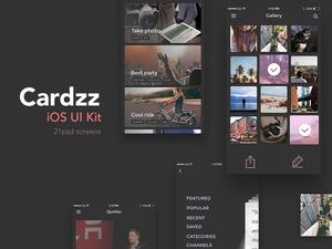 Cardzz iOS UI Kit