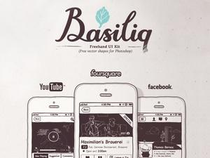 Basiliq – Freehand UI Kit