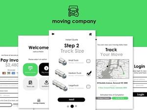 Moving App UI Kit