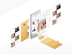 Posh Mobile UI kit