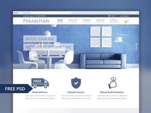 Perabotan Website Template