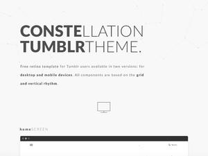 Constellation – Tumblr Template