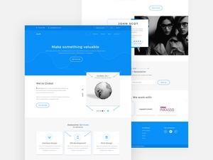 Ceatr Agency Website Concept
