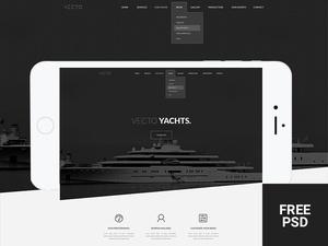 Vecto – Minimal Portfolio Template