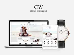 Daniel Wellington Website