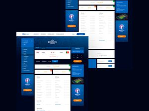 Football Portal Redesign Template