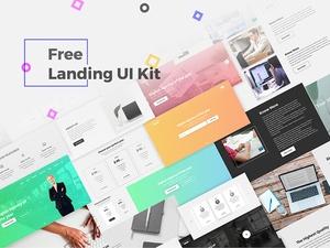 Landing Page UI Kit