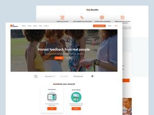 UX Feedback Homepage Design