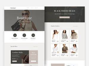 Boutique Responsive Email Newsletter
