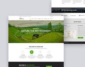 Green Fair Eco/Natural Template