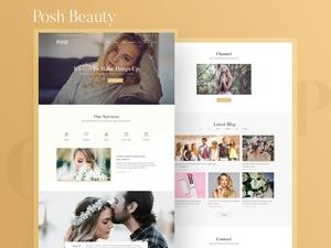 Posh – Beauty Website Template