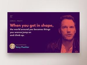 Quote Website Concept
