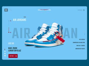 Nike Shoe Store E-commerce Platform Template