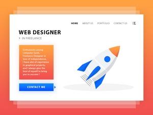 Web Designer Profile Page