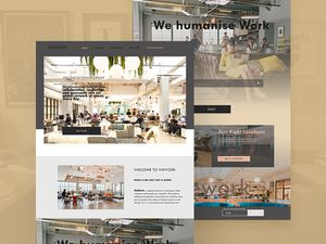 WeWork Redesign Template