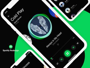 Spotify App Redesign Concept With Adobe Xd