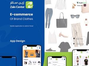 E-commerce Mobile App UI KIT   Zain Center